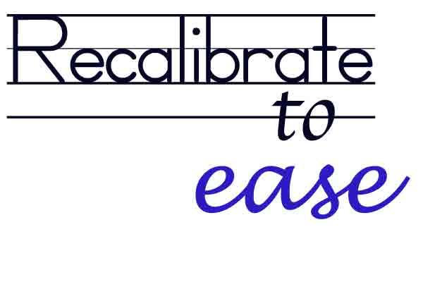 recalibrate2ease